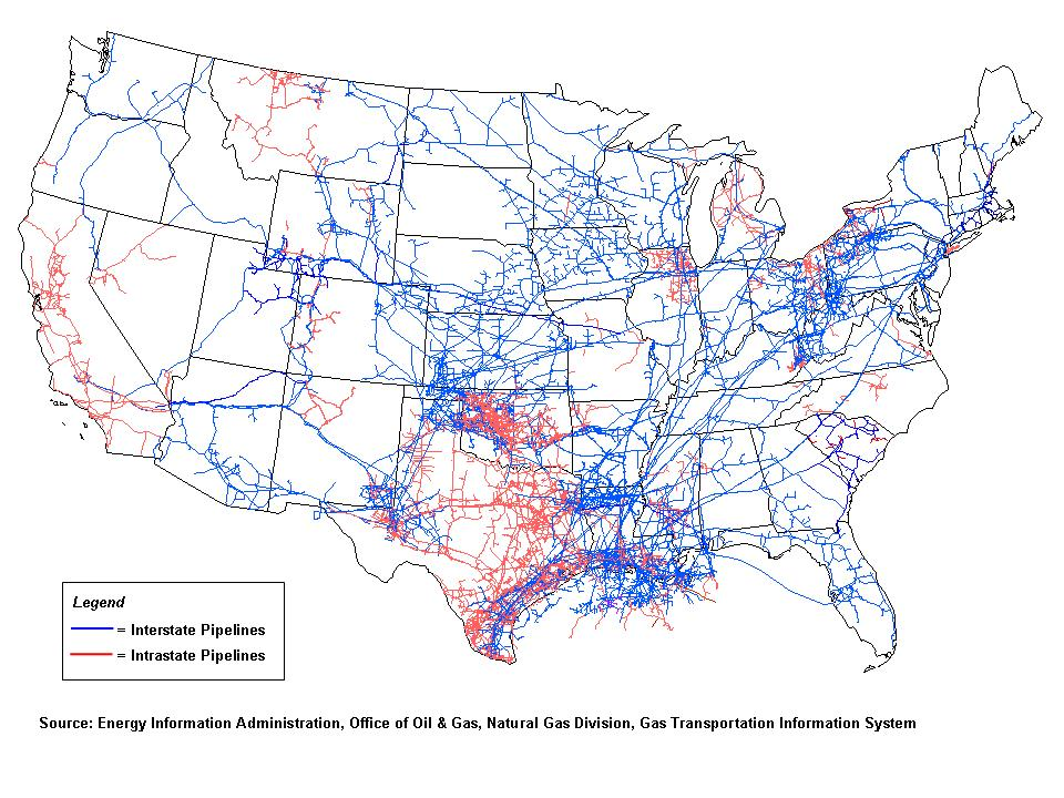 Map Of The US Interstate Highway System The Interstate Highway