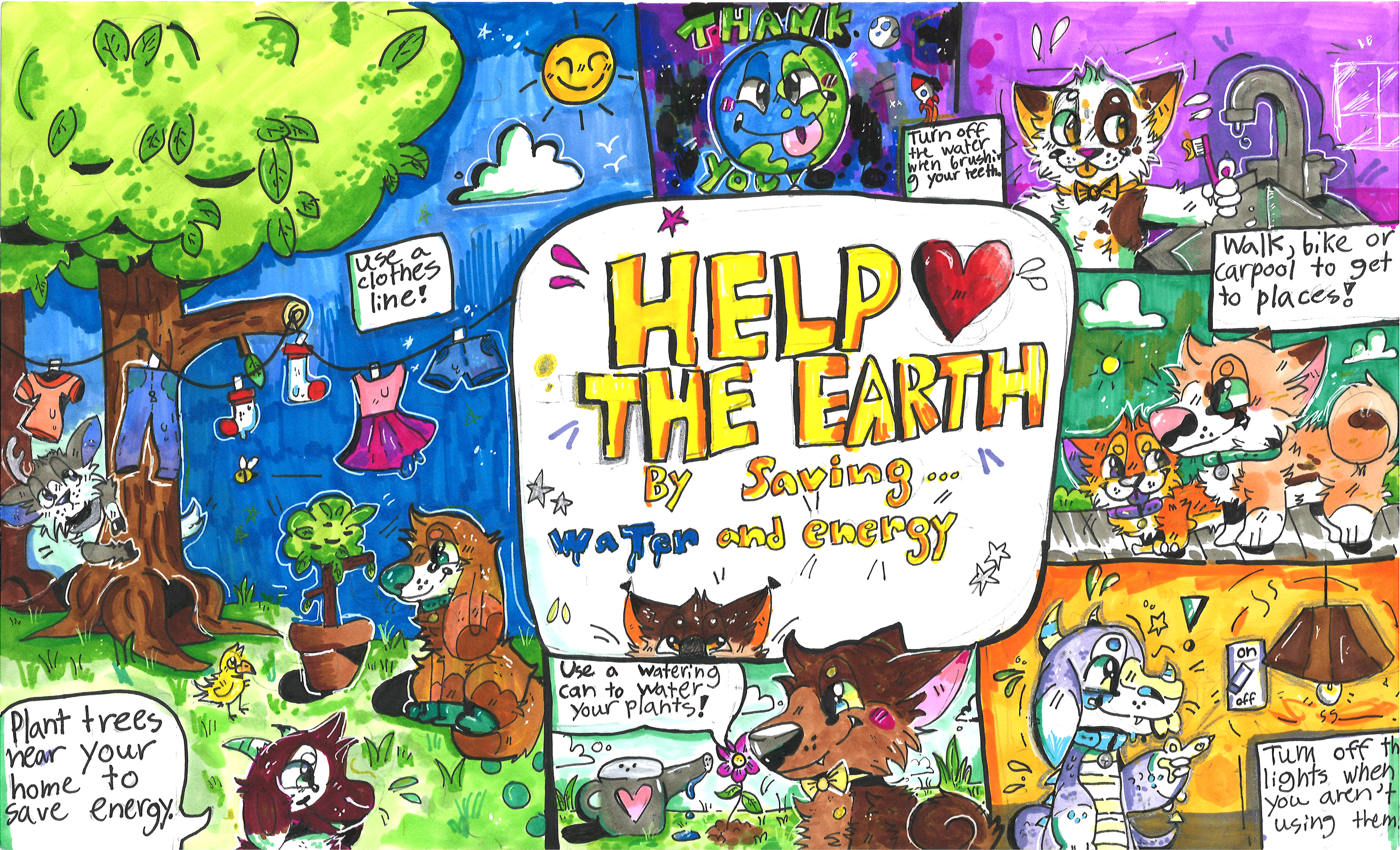 Student Poster Contest Citizens Energy Group